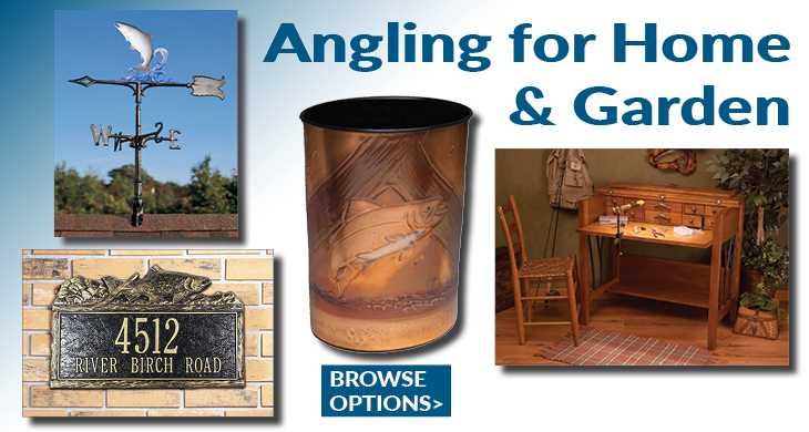 Fly Fishing Home and Cabin Decor