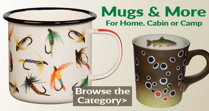 Fly Fishing Glassware