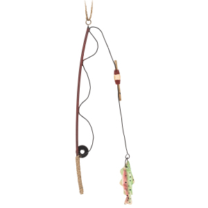 Fishy Ornaments Fishing Rod