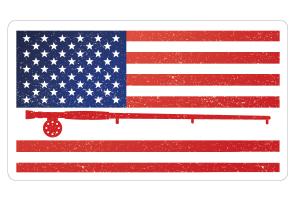 5 Inch USA Flag Dizzlers