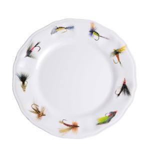 Fishing Flies Melamine Dinnerware