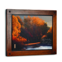 Autumn Fly Fishing Wall Art