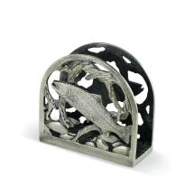 Metal Trout Napkin Holder