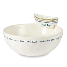 Lake Stacked Chip & Dip Set