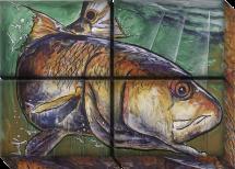 Redfish Right 52x36