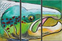 Atlantic Salmon 63x42