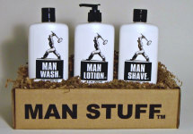 Man Stuff Wash & Care Gift Set