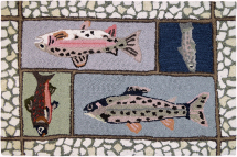 Mountain Trout Indoor Rugs