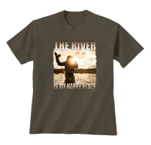The River Is My Happy Place T-Shirt