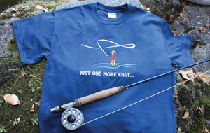 Just One More Cast -T-Shirt