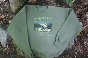 Advice from a Trout Sweatshirt