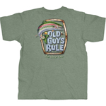 Old Guys Rule Tie One On T-shirt