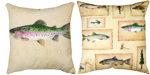 Lake House Climaweave Pillow 18x18 inches
