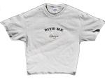 Bite Me Grey T-Shirt