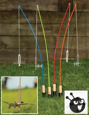 Fire Fishing Poles