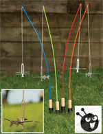 Fire Fishing Poles