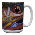 Fish Face Coffee Mugs